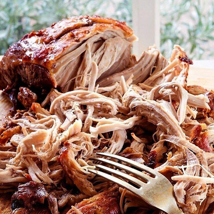 Свинина Pulled pork на гриле