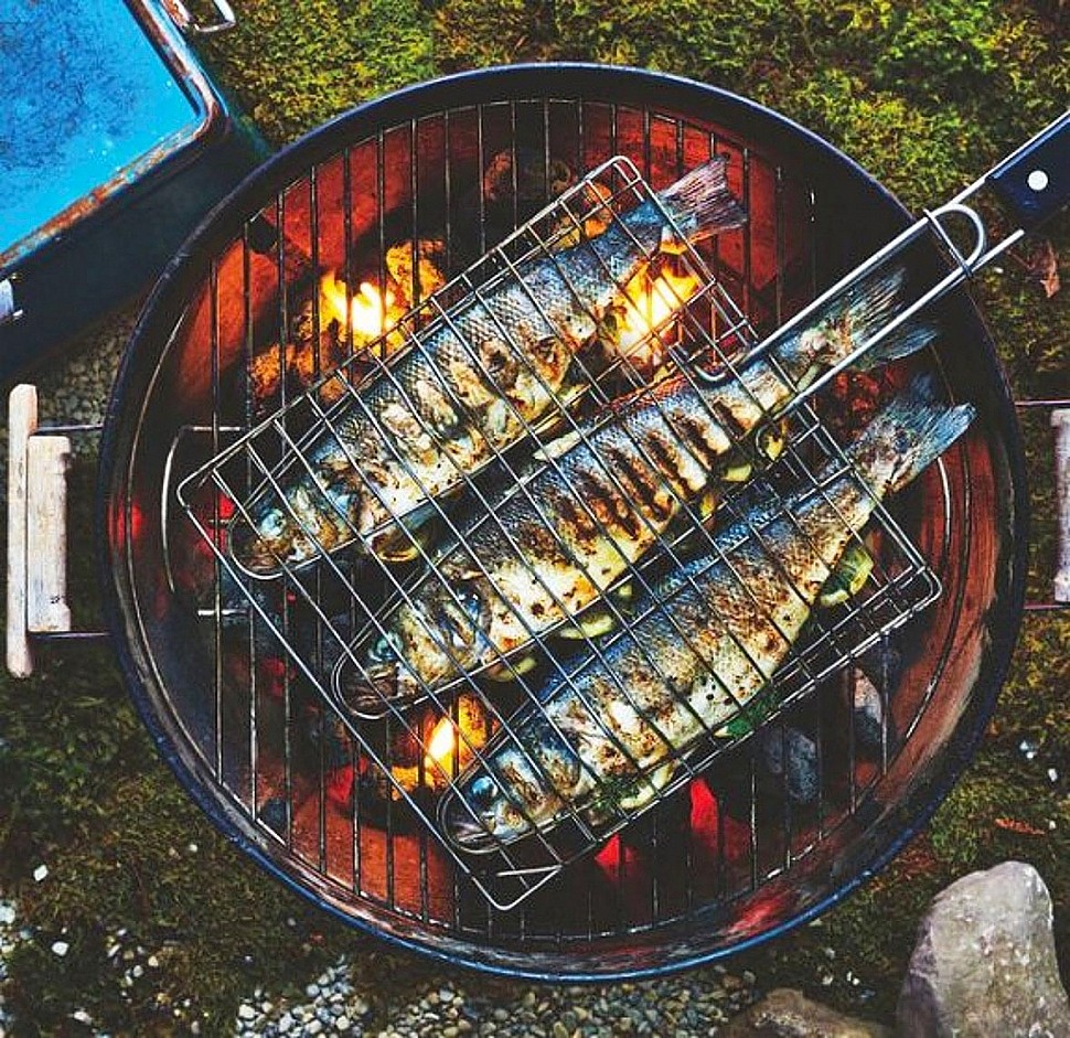 вещи рыба на гриле рецепт с фото серебра царской