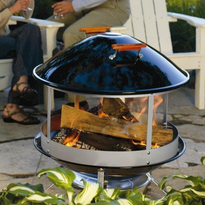 Уличный дровяной камин weber fireplace векторный барбекю