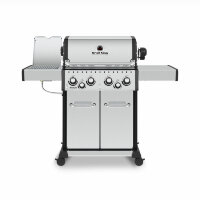 Гриль газовый Broil King Baron S490 IR New, нерж. сталь